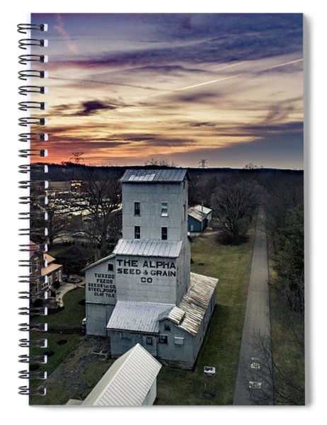 Historic Sunset Spiral Notebook