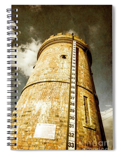Historic Water Storage Structure Spiral Notebook
