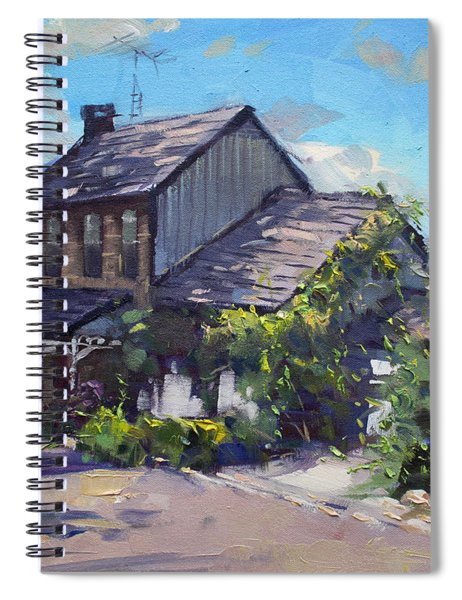 Historical House Ontario Spiral Notebook