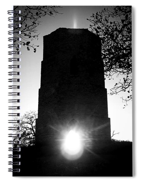 Historical Water Tower At Sunset Spiral Notebook
