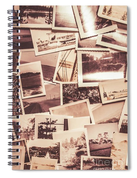 History In Still Photographs Spiral Notebook