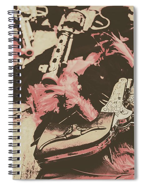 History In Western Rivalry Spiral Notebook