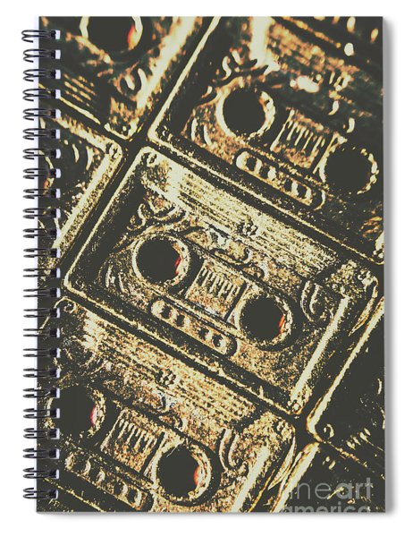 Hit Record Spiral Notebook