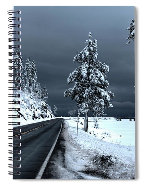 Highway 200 Near Hope 2 Spiral Notebook