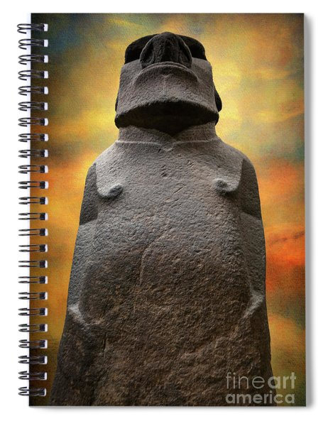 Hoa Hakananaia Spiral Notebook