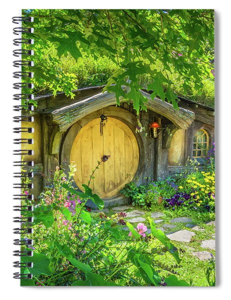Hobbit Cottage Spiral Notebook