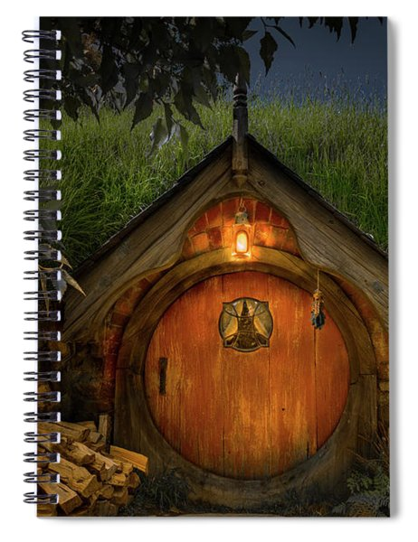 Hobbit Dwelling Spiral Notebook