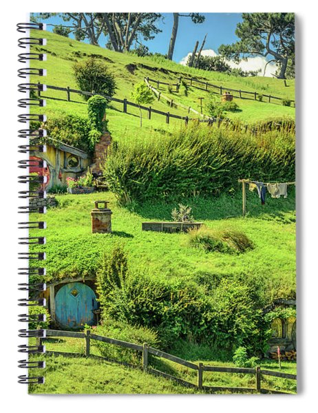 Hobbit Hills Spiral Notebook