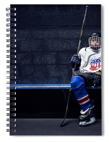 Hockey Strong Spiral Notebook