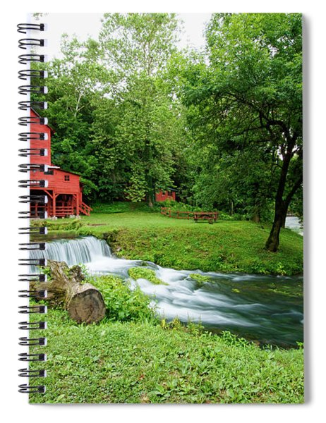 Hodgson Water Mill And Spring Spiral Notebook