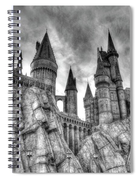 Spiral Notebook featuring the photograph Hogwarts Castle 1 by Jim Thompson