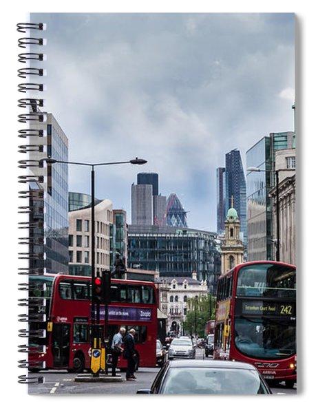 Holborn - London Spiral Notebook