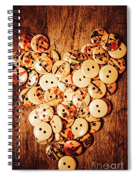 Hold Fast. Love Is The Fix  Spiral Notebook