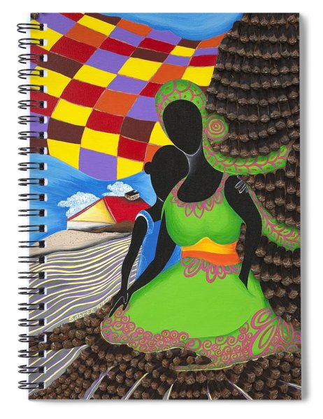 Holding On Spiral Notebook