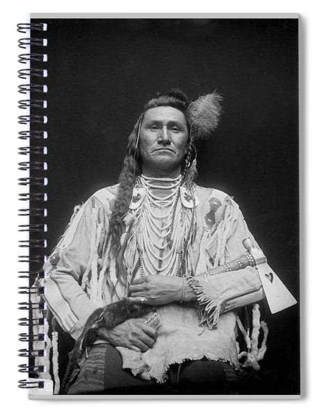 Holds His Enemy Son Of Pretty Eagle - Crow - 1910 Spiral Notebook