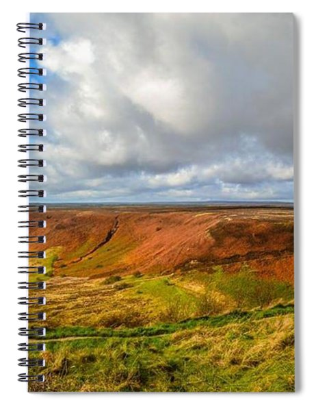 Hole Of Horcum, North York Mores, Yorkshire, United Kingdom Spiral Notebook