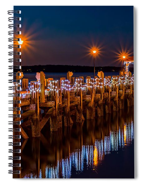 Holiday On The Docks Spiral Notebook