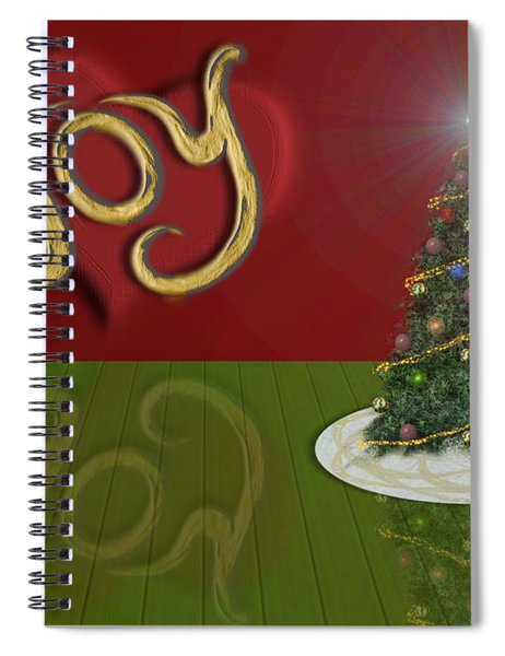 Holiday Reflection Spiral Notebook