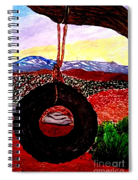 Holiday Swing Spiral Notebook