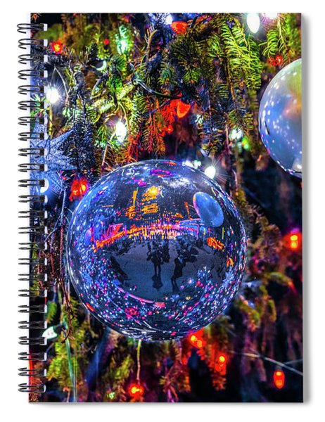 Holiday Tree Ornaments Spiral Notebook