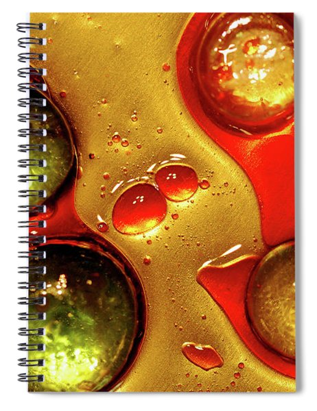 Holiday Waterscape 2 Spiral Notebook