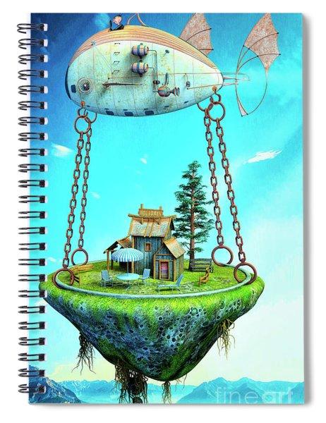 Holidays Spiral Notebook