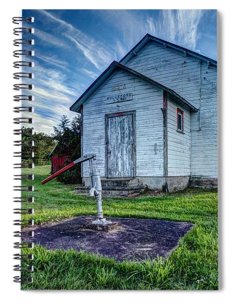 Holleford Schoolhouse Spiral Notebook