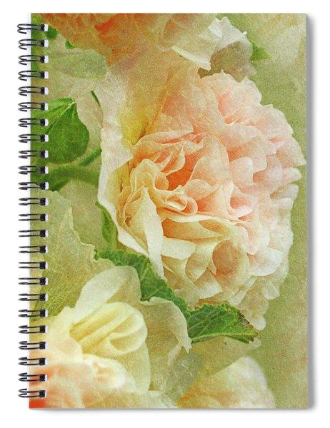 Hollyhock Spiral Notebook