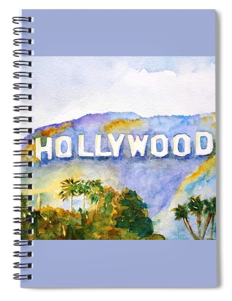 Hollywood Sign California Spiral Notebook