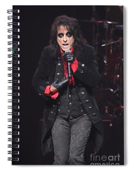 Hollywood Vampires Alice Cooper Spiral Notebook