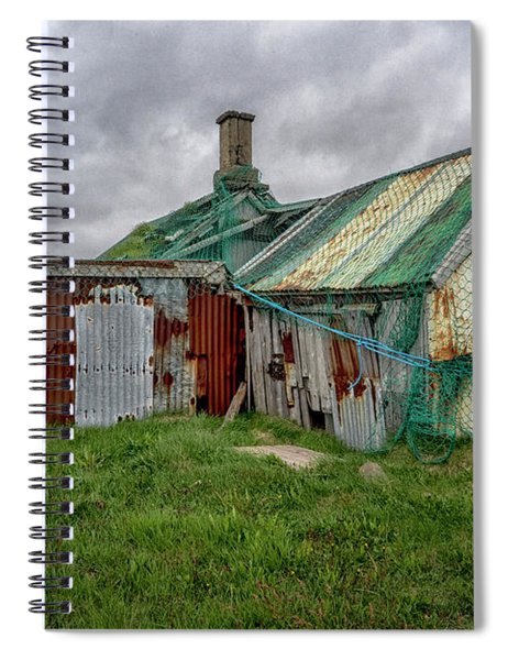 Holmavik Fishing Net Spiral Notebook