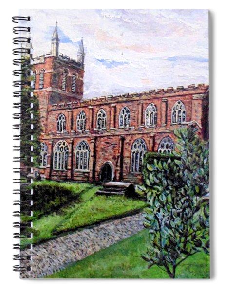 Holy Cross Church Crediton Devon Uk Spiral Notebook