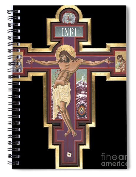 Holy Cross Of The New Advent 162 Spiral Notebook