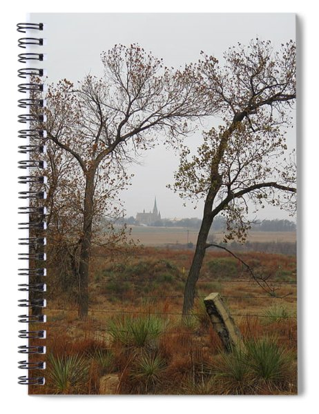 Holy Cross Shrine In The Distance Spiral Notebook