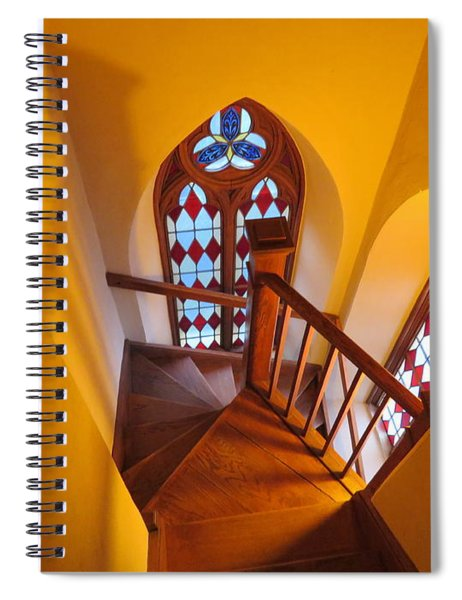 Holy Cross Staircase Spiral Notebook