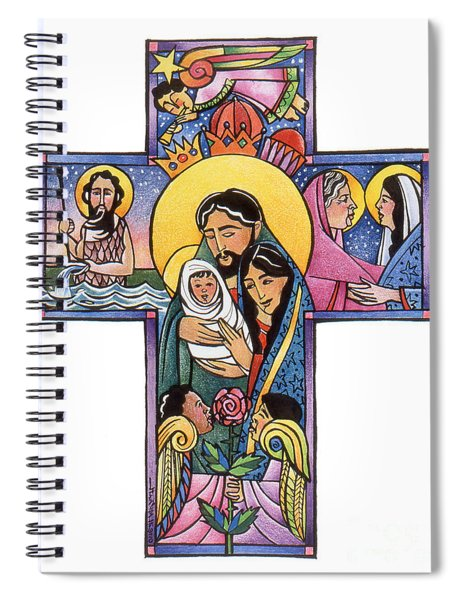 Holy Family Cross - Mmhfc Spiral Notebook