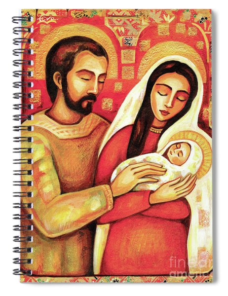 Holy Family Spiral Notebook