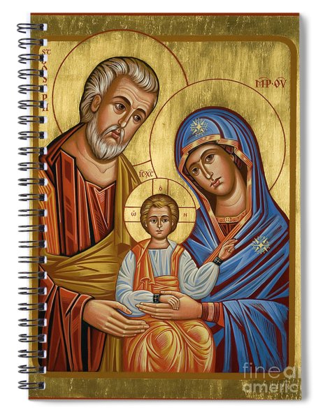 Holy Family - Jchfl Spiral Notebook