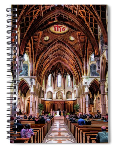 Holy Name Cathedral Spiral Notebook