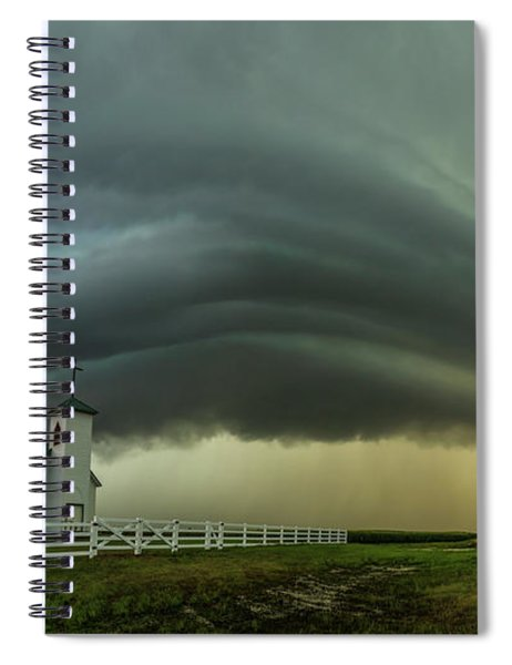 Holy Supercell  Spiral Notebook