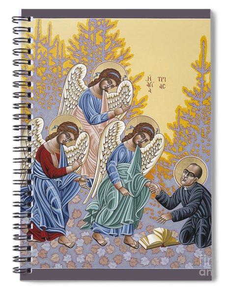 Holy Theologian Bernard Lonergan 122 Spiral Notebook