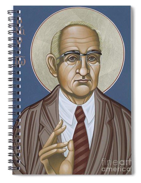 Holy Theologian Hans Urs Von Balthasar 110 Spiral Notebook