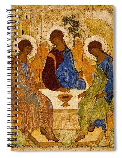 Holy Trinity. Troitsa Spiral Notebook