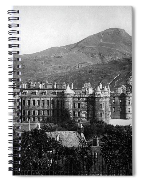 Holyrood From Calton Hill Spiral Notebook