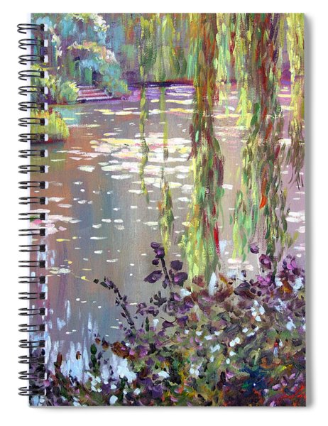 Homage To Monet Spiral Notebook