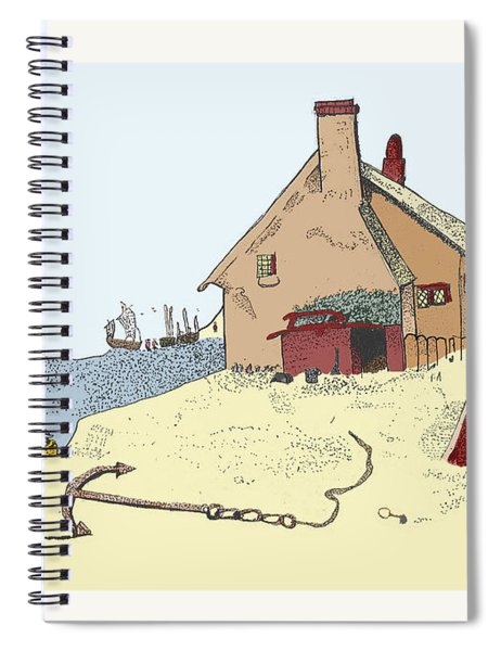 Home By The Sea Spiral Notebook