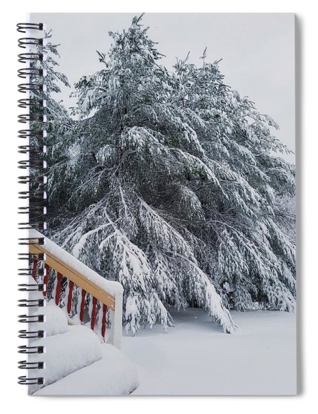 Home For The Blizzard Spiral Notebook