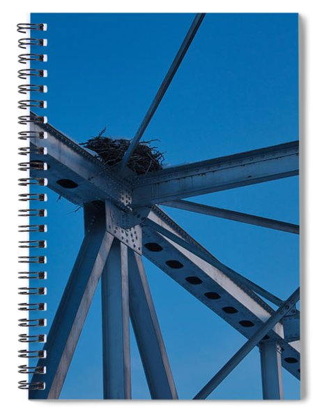 Home, Home On The Bridge Spiral Notebook