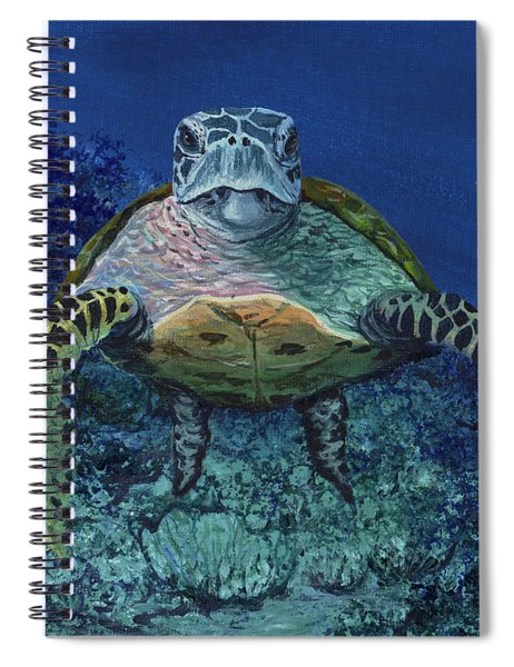 Home Of The Honu Spiral Notebook
