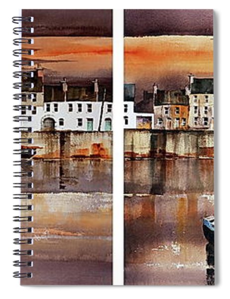 Home Of The Hookers, Galway Citie Spiral Notebook